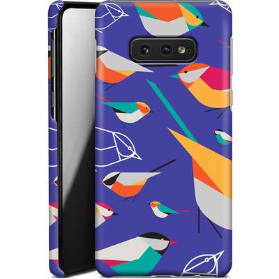 Samsung Galaxy S10e Smartphone Huelle - Birds Talk von Susana Paz