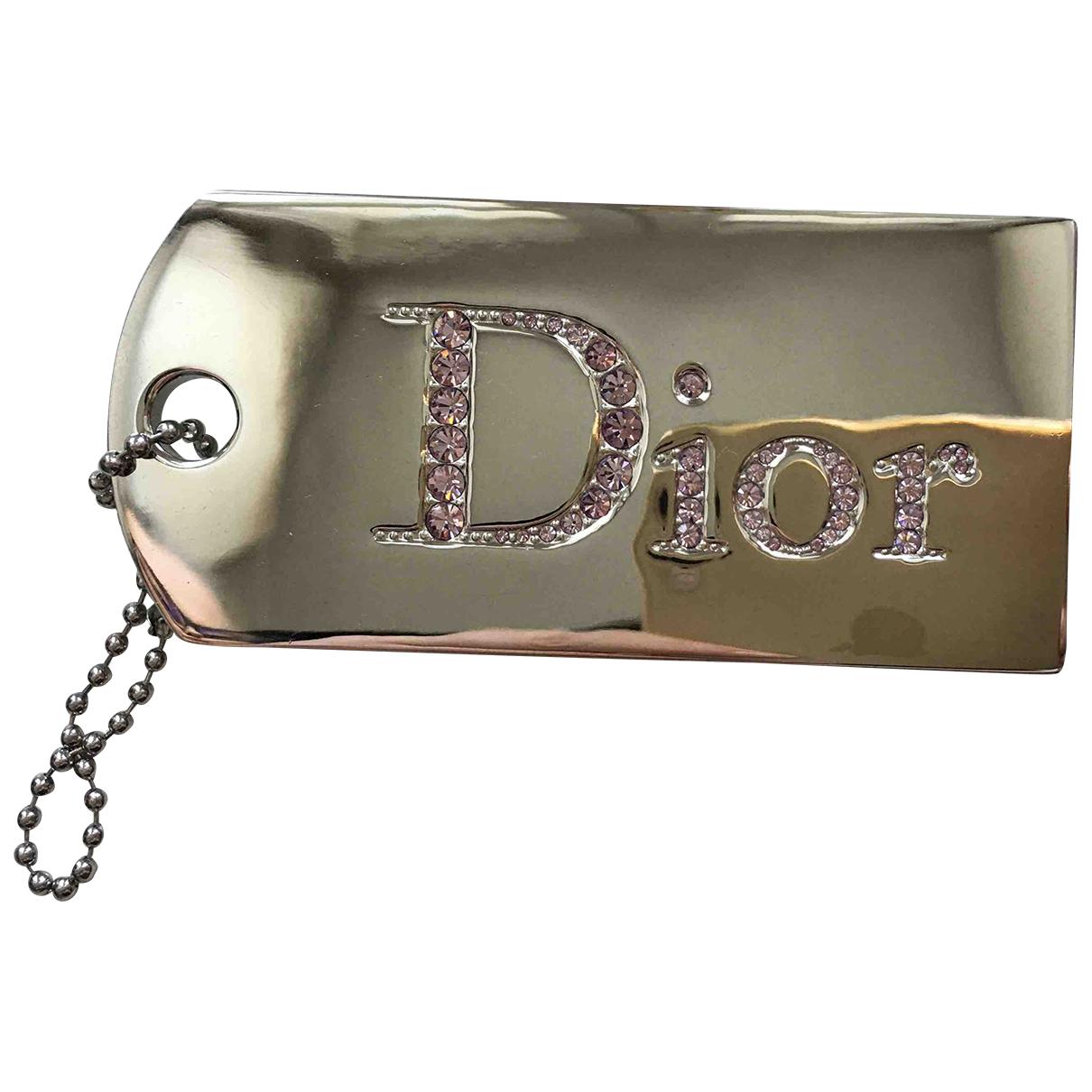 Dior N Silver Metal pendant for Women N