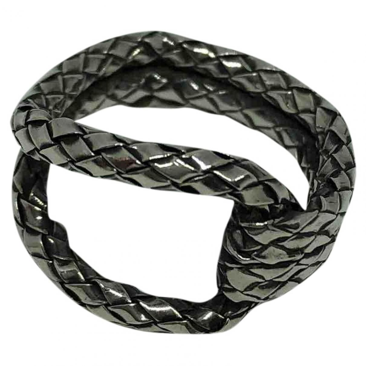 Bottega Veneta \N Ring in  Silber Silber