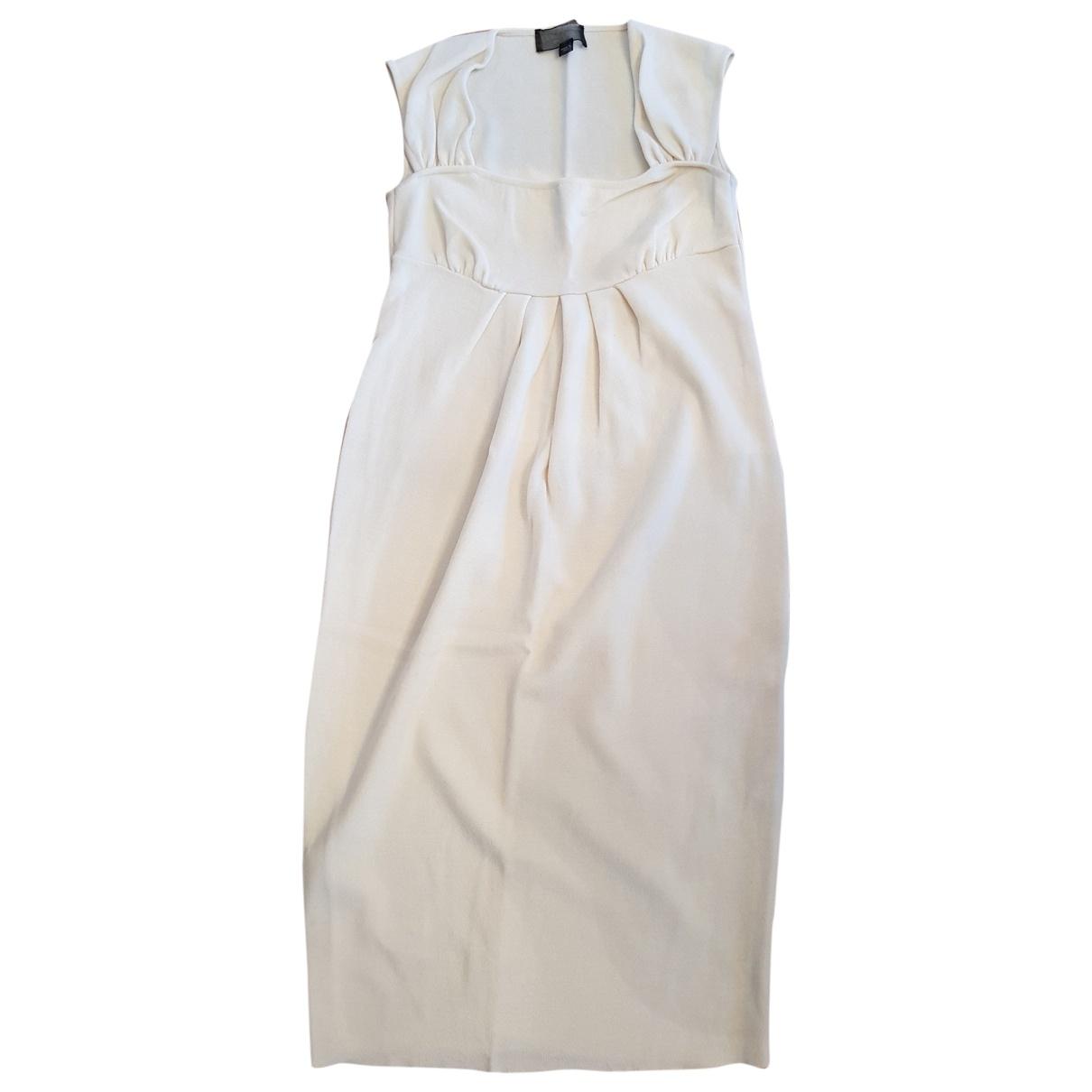 Giambattista Valli \N Kleid in  Weiss Wolle