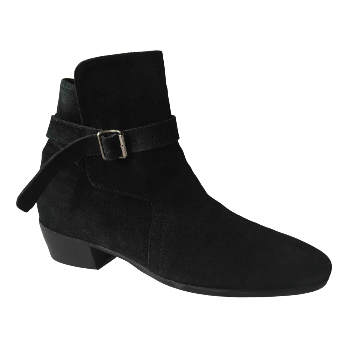 Jean-michel Cazabat \N Black Suede Boots for Men 41 EU