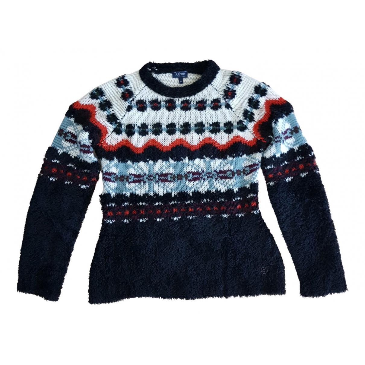 Armani Jeans N Multicolour Wool Knitwear for Women 42 IT