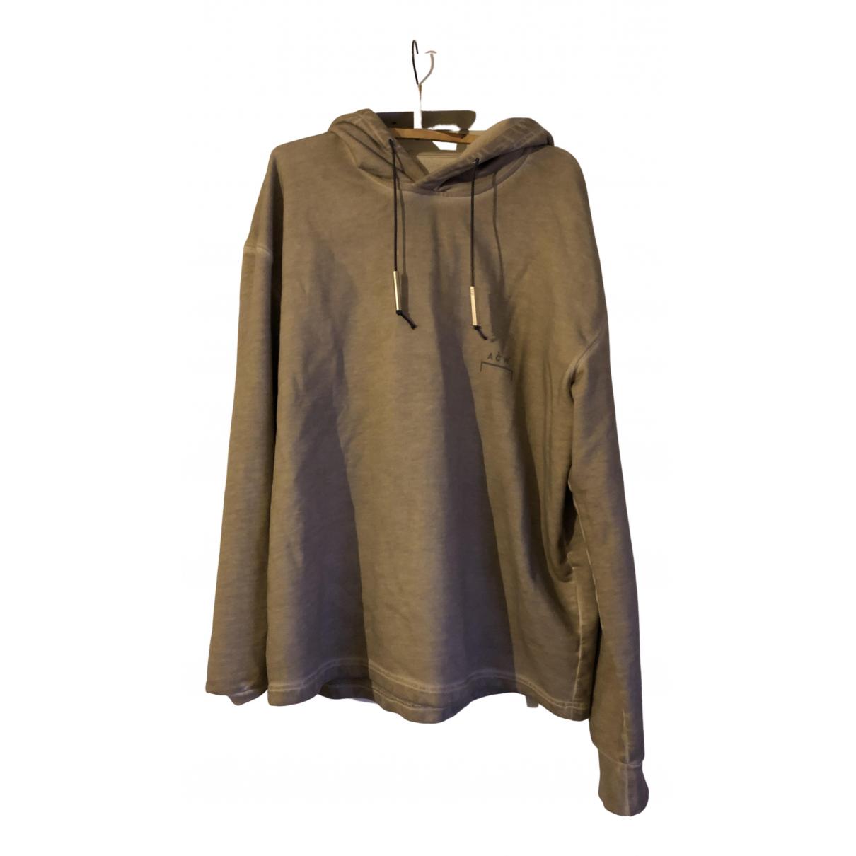 A-cold-wall \N Pullover.Westen.Sweatshirts  in  Beige Baumwolle