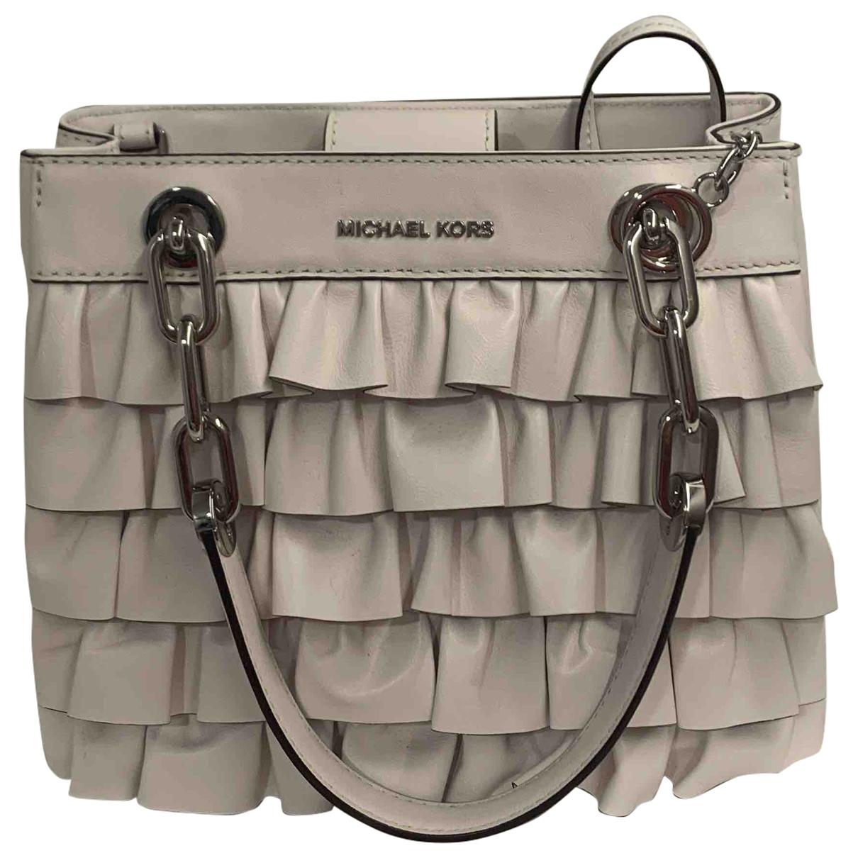 Michael Kors \N White Leather handbag for Women \N