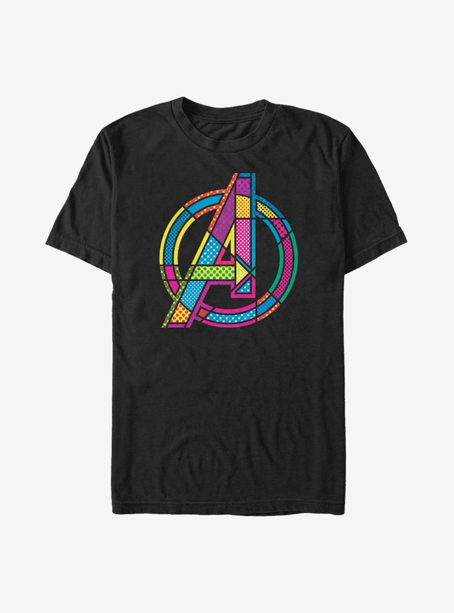 Marvel Avengers Halftone Pop A T-Shirt