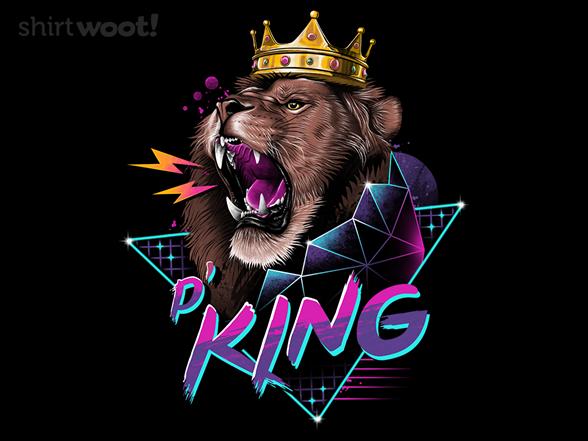 Rad King T Shirt
