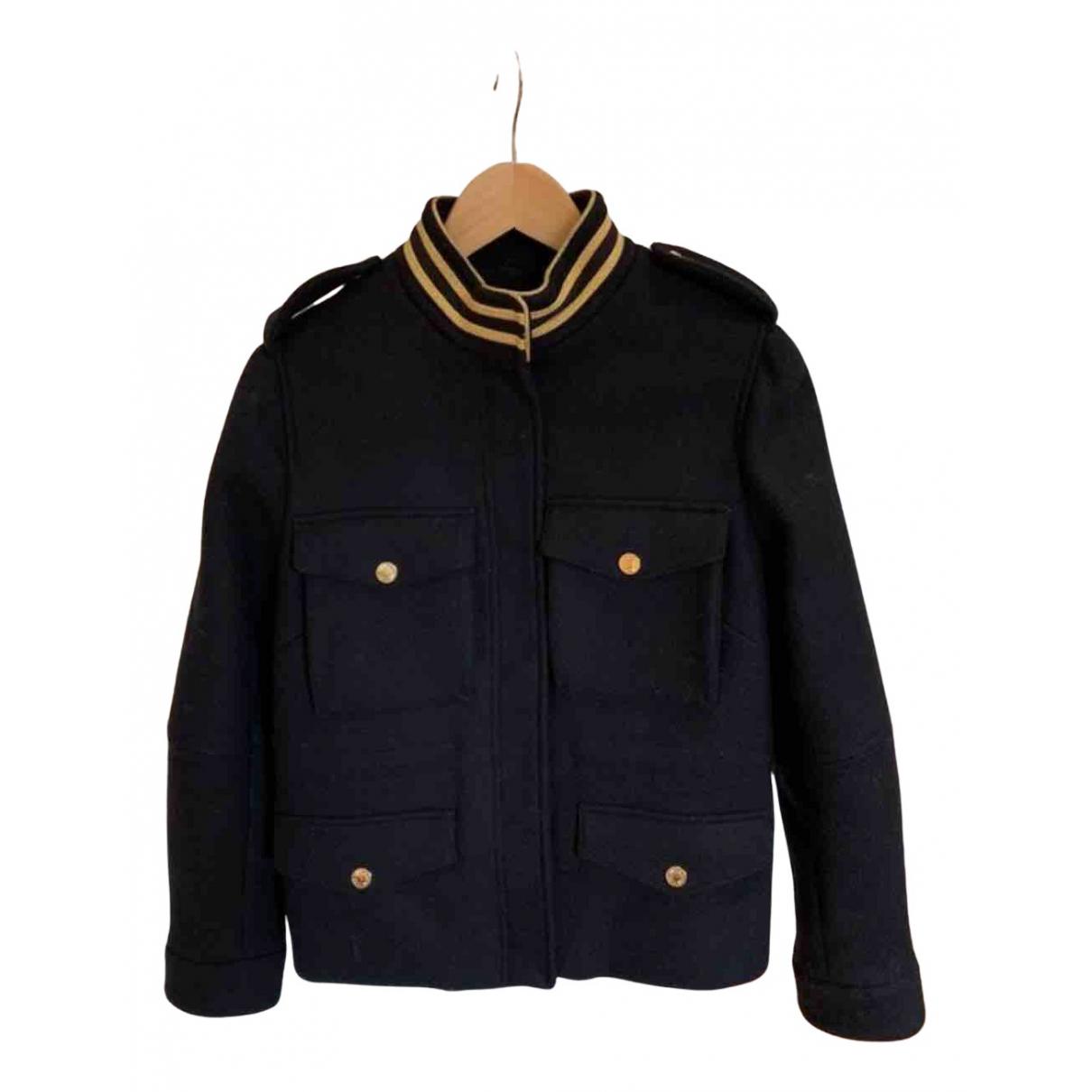 Zadig & Voltaire - Manteau   pour femme en laine - marine