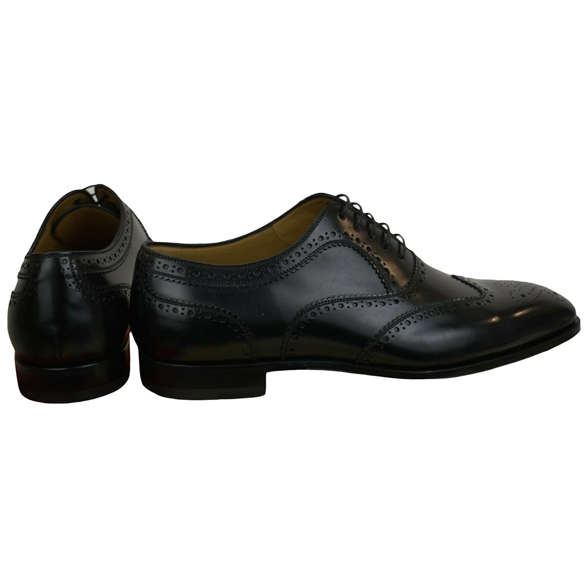 Christian Louboutin \N Black Leather Lace ups for Men 40 EU