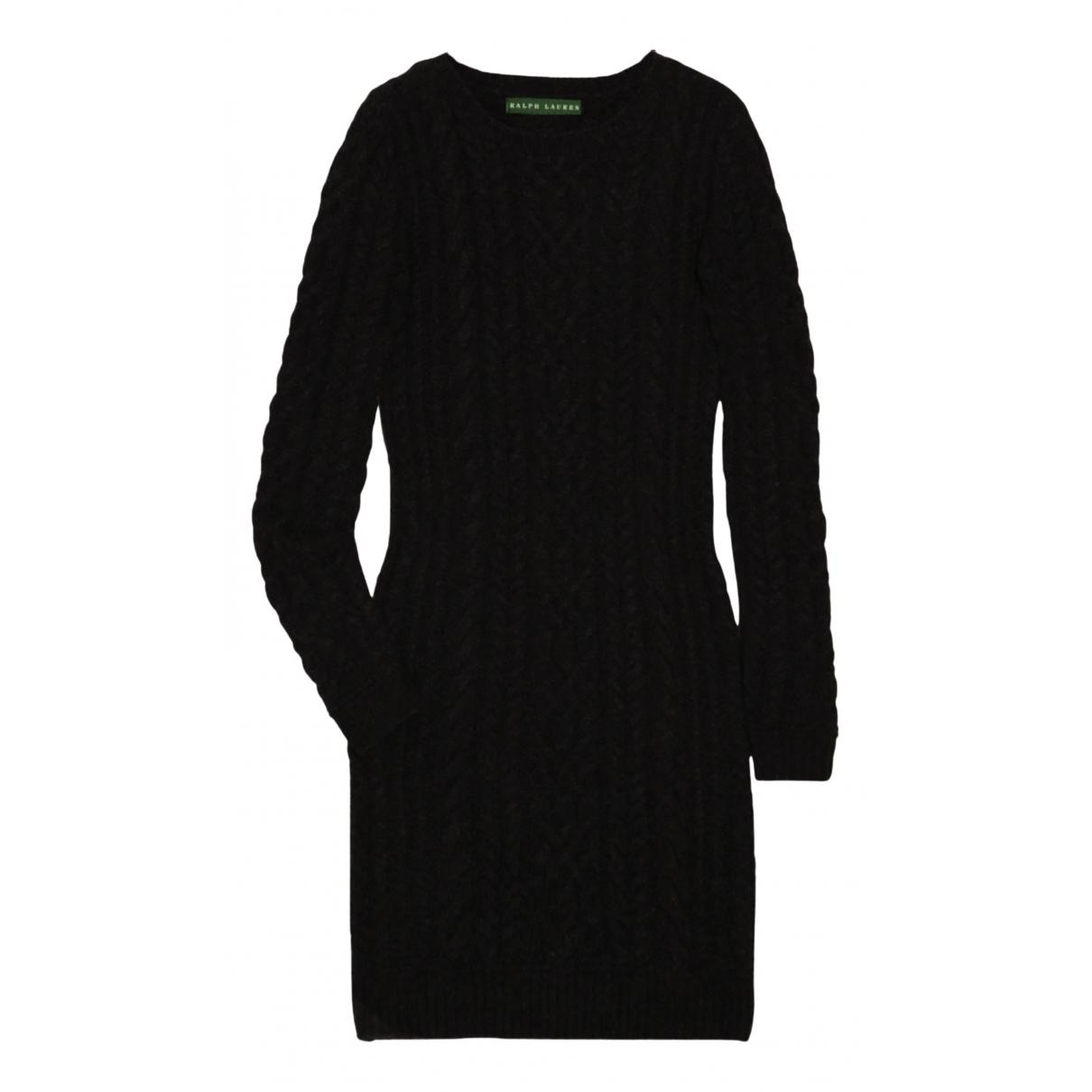 Lauren Ralph Lauren - Robe   pour femme en cachemire - noir