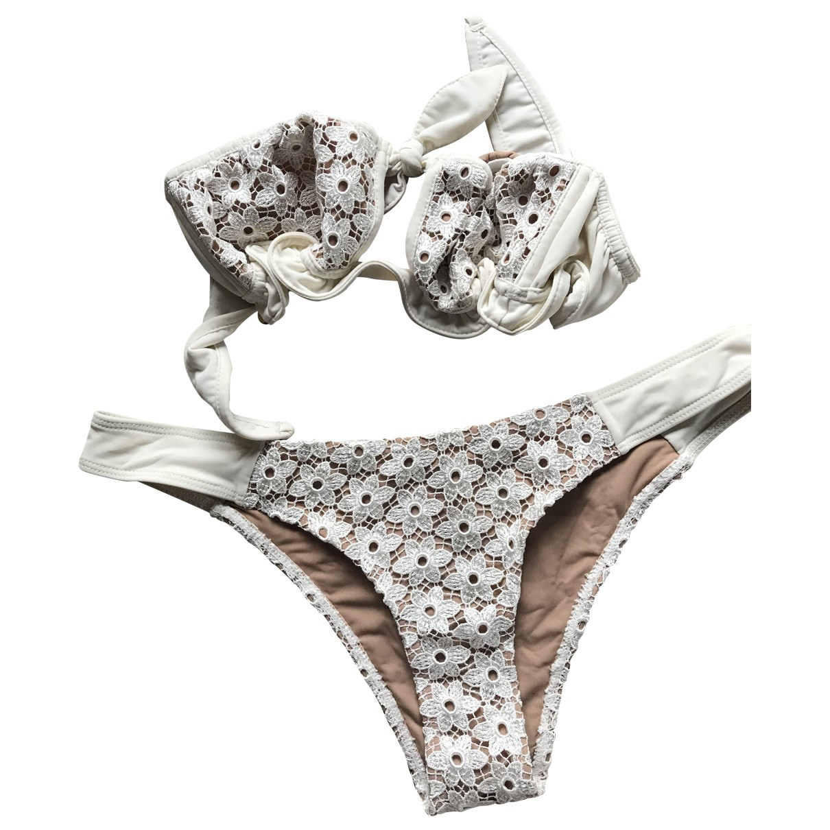 For Love & Lemons \N White Swimwear for Women XS International