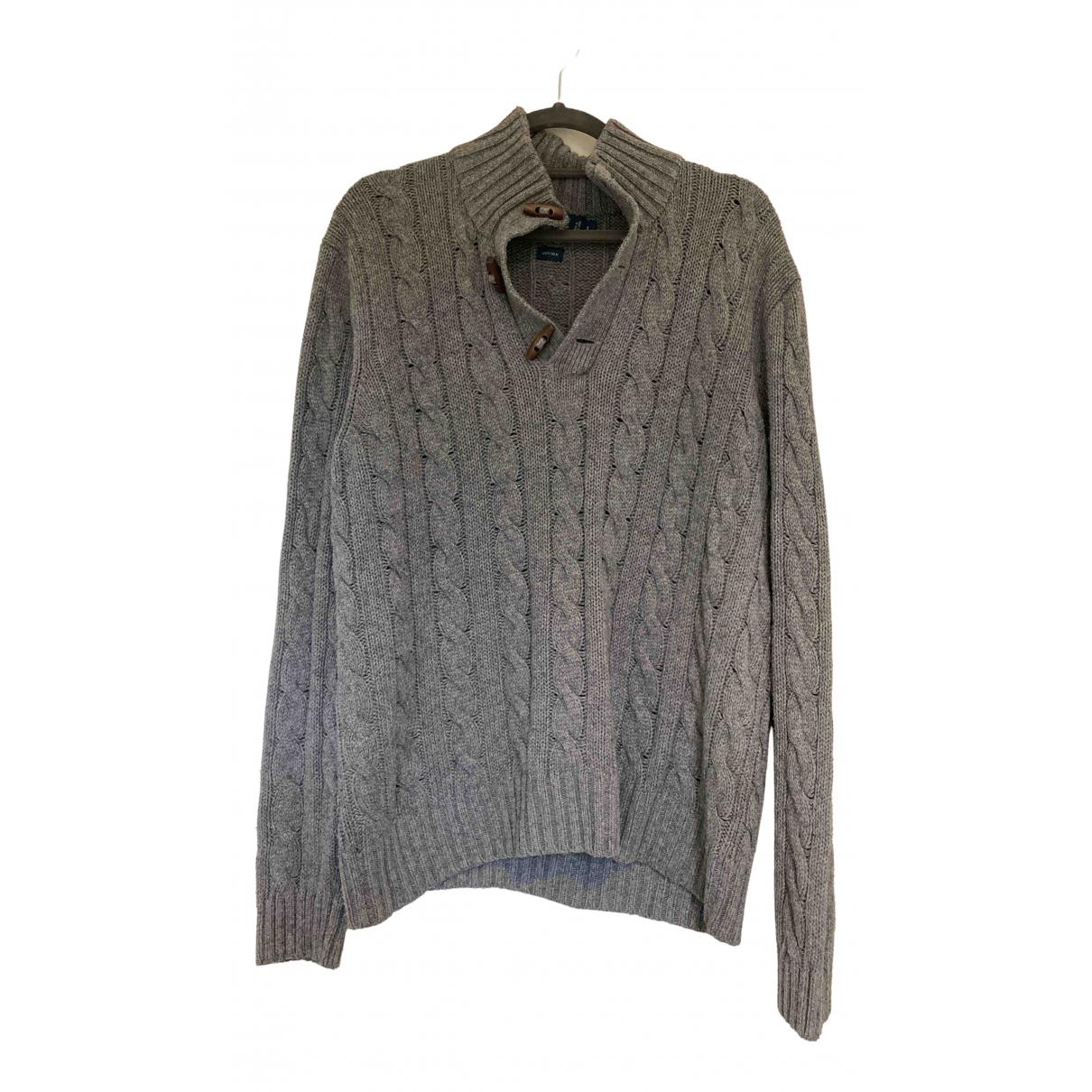 Non Signe / Unsigned \N Pullover.Westen.Sweatshirts  in  Grau Seide