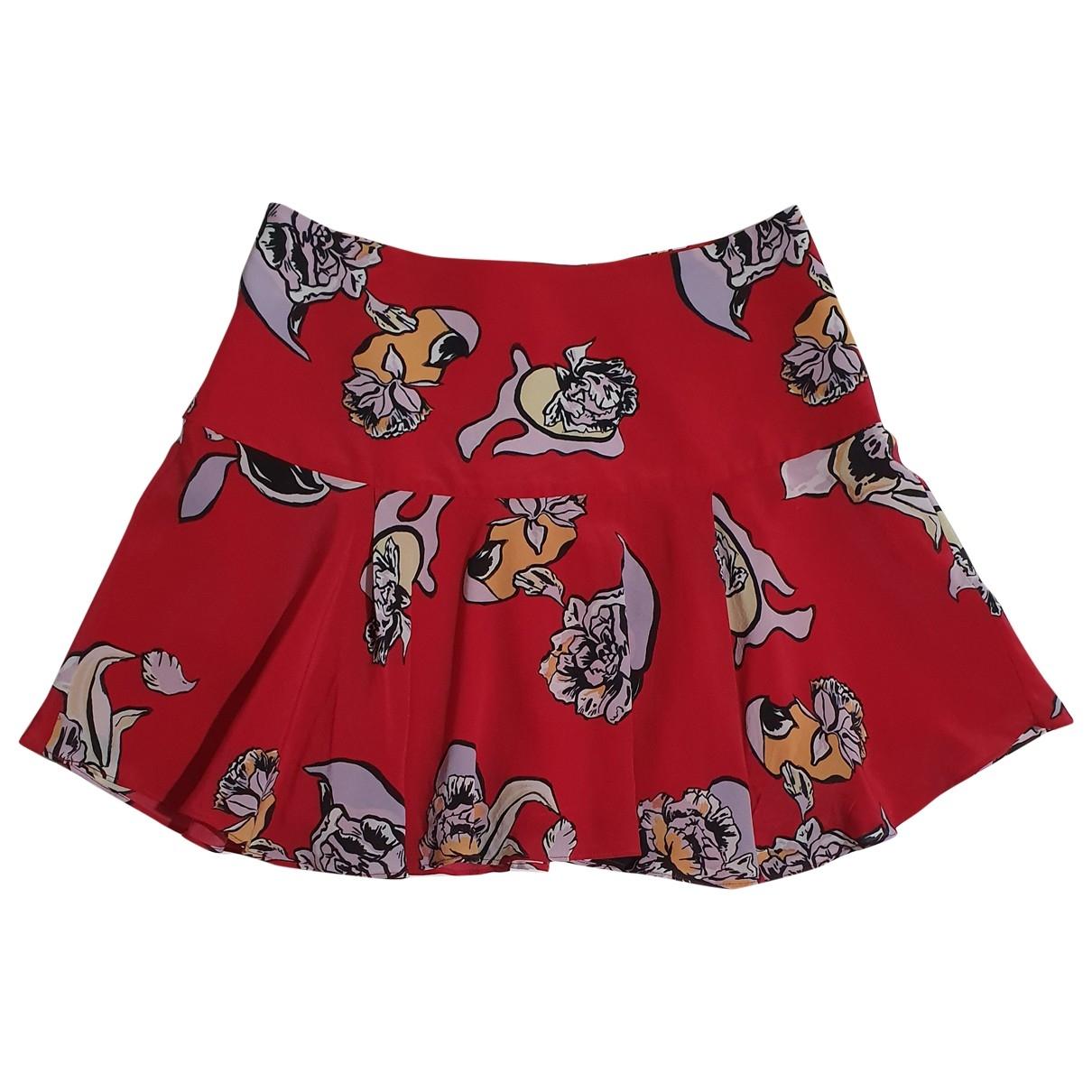 Fallwinterspringsummer \N Multicolour Silk skirt for Women M International