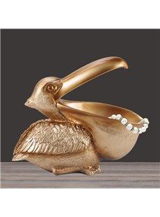 Birds Big Mouth Jewelry Key Small Stuff Holder Creative European Style Home Decoration