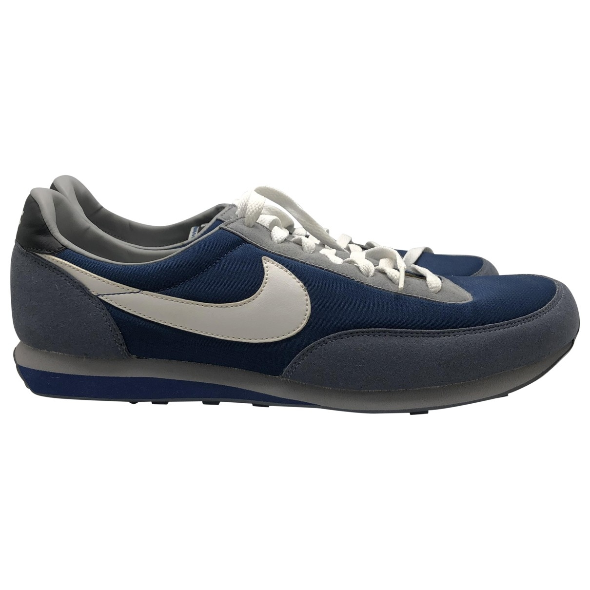Nike \N Blue Suede Trainers for Men 10 UK