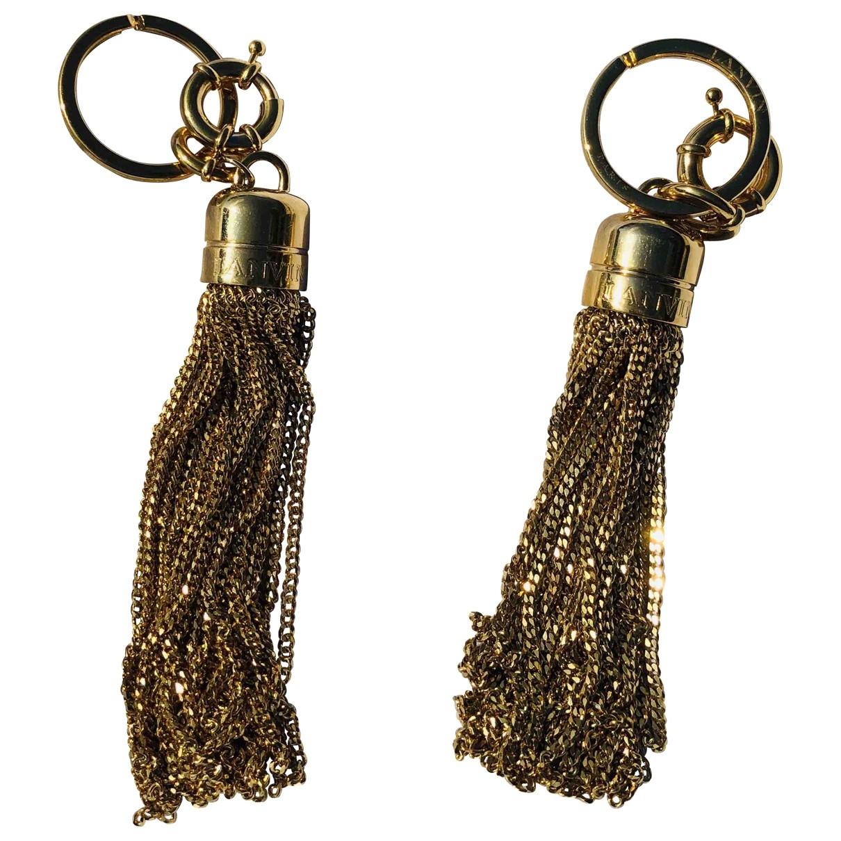 Lanvin - Bijoux de sac   pour femme en metal - dore