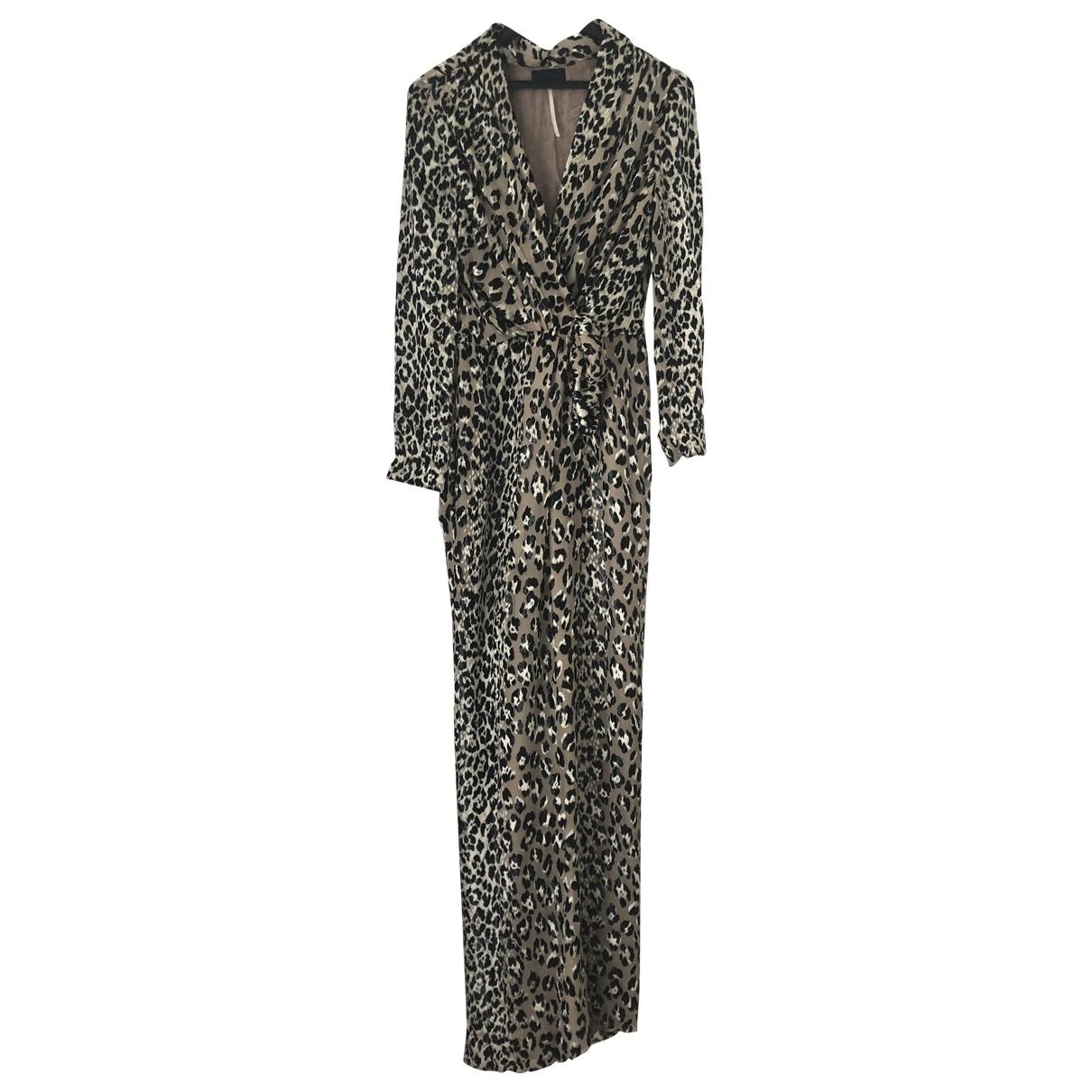 Lanvin \N Multicolour Velvet dress for Women 36 FR