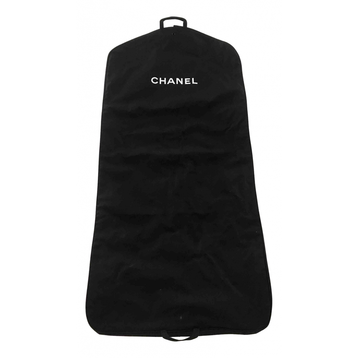 Chanel N Black Cloth Travel bag for Women N