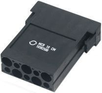 Epic Contact Heavy Duty Power Connector, H-D 1.6, MCB 10 Way Female 10A MC Module Kit, includes Contact, Module