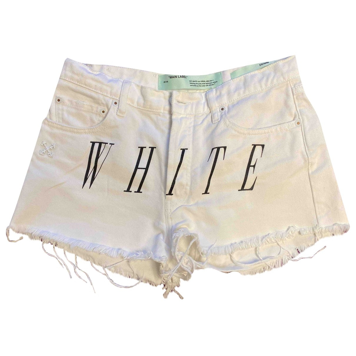 Short Off-white