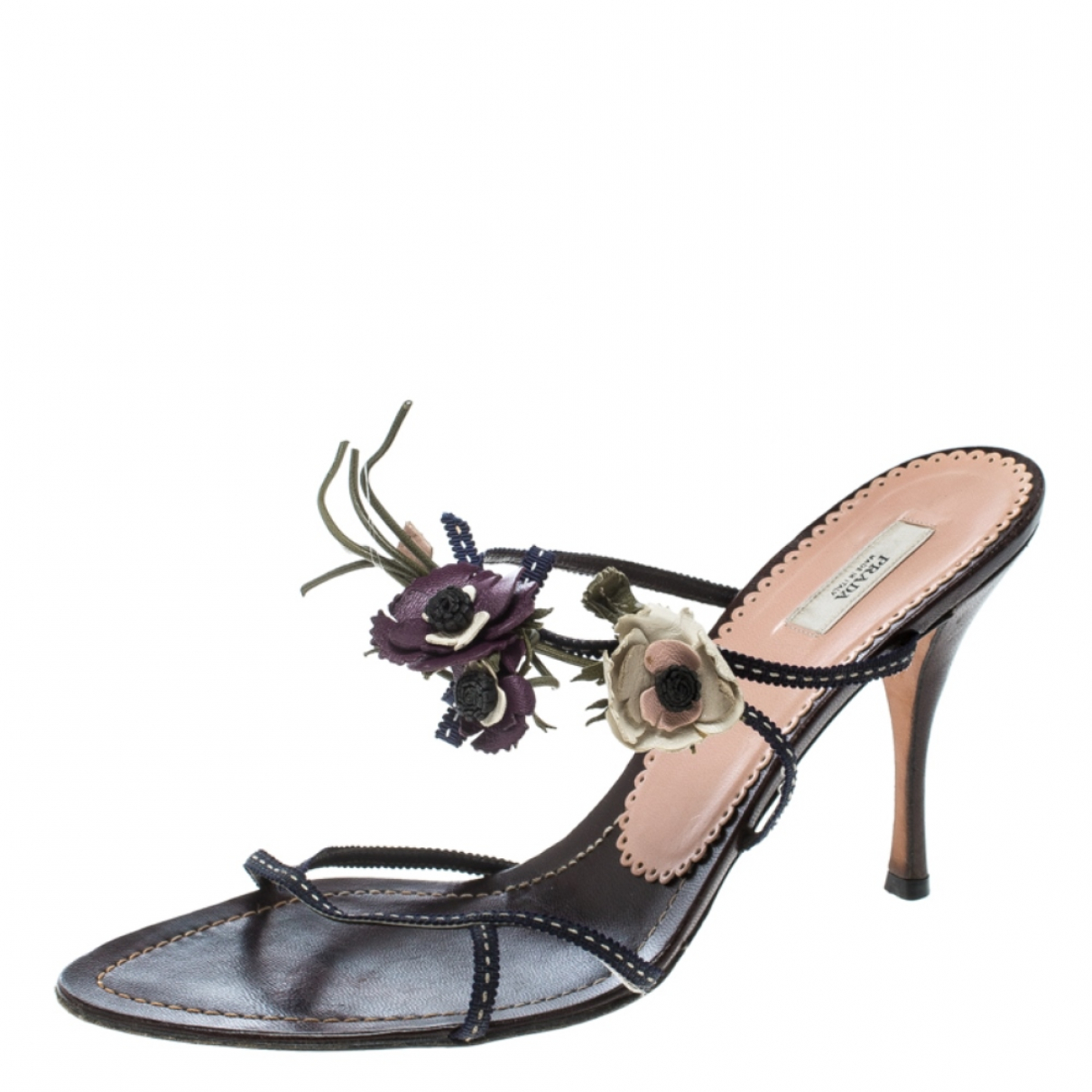 Prada \N Leather Sandals for Women 8 US