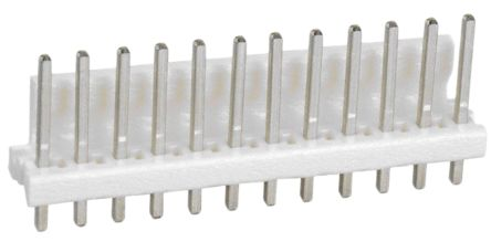 TE Connectivity , MTA-156, 12 Way, 1 Row, Straight PCB Header (5)