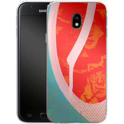 Samsung Galaxy J3 (2017) Silikon Handyhuelle - Saturated Wall von Brent Williams