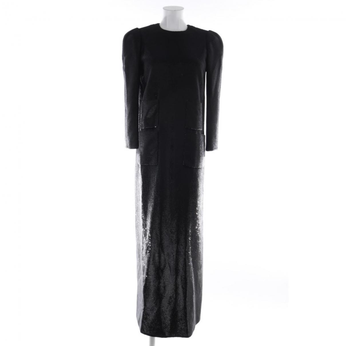 Louis Vuitton \N Kleid in  Schwarz Mit Pailletten