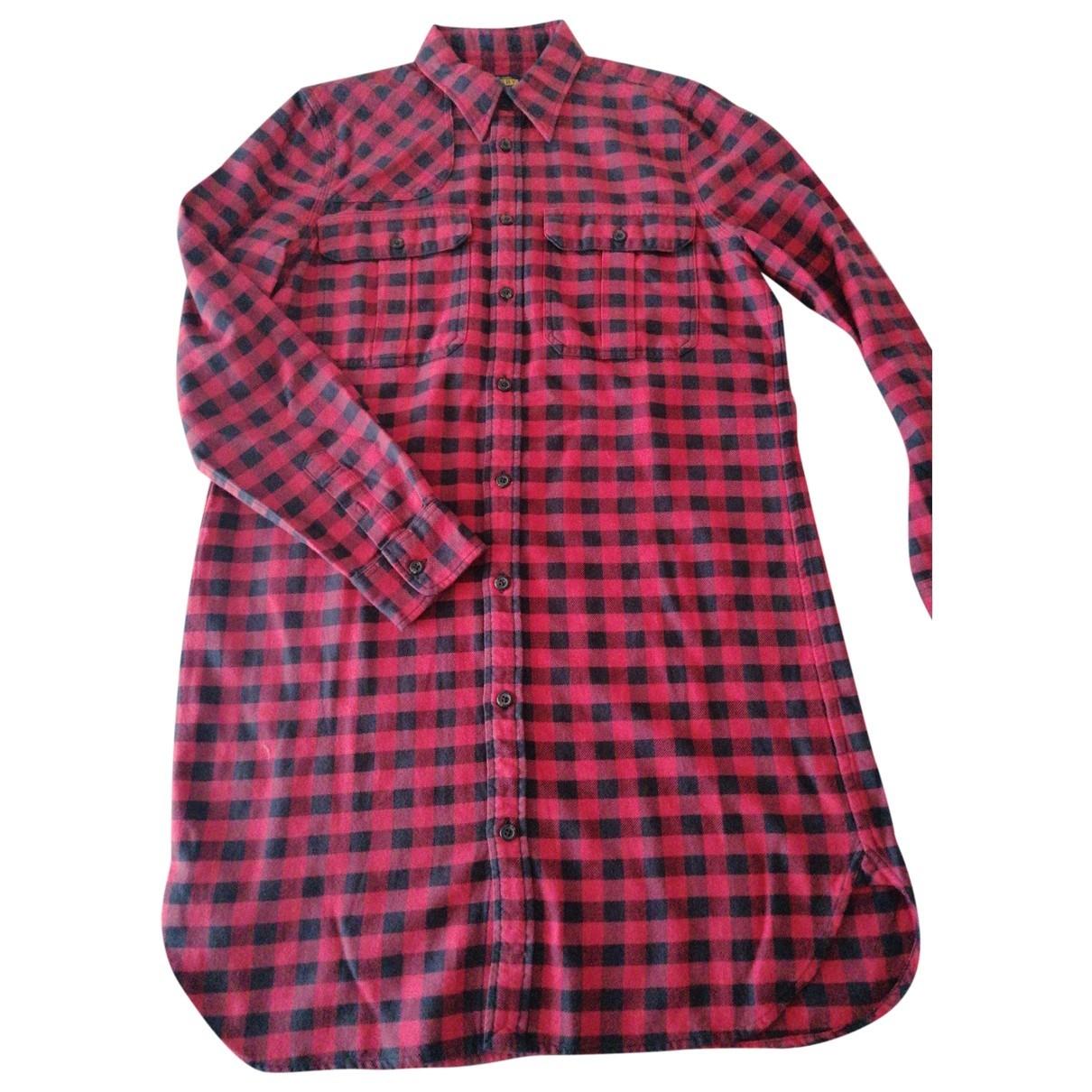 Rugby Ralph Lauren \N Kleid in  Rot Baumwolle