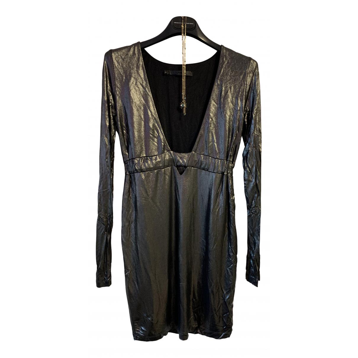 Imperial \N Kleid in  Silber Viskose