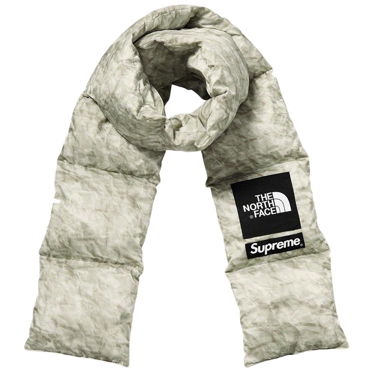 Supreme \N Grey scarf & pocket squares for Men \N