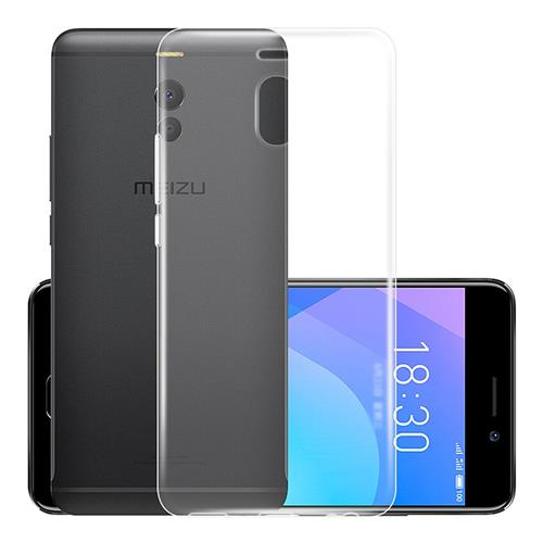 MEIZU M6 Note Silicone Case Protective TPU Phone Shell Back Cover - Transparent