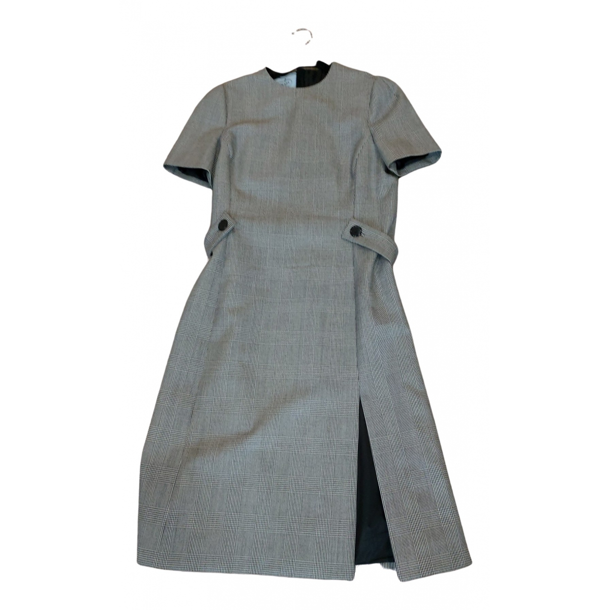 Prada \N Kleid in  Grau Wolle