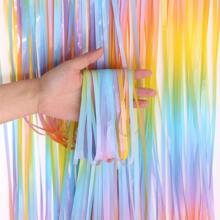 1pc Rainbow Party Tassel Curtain
