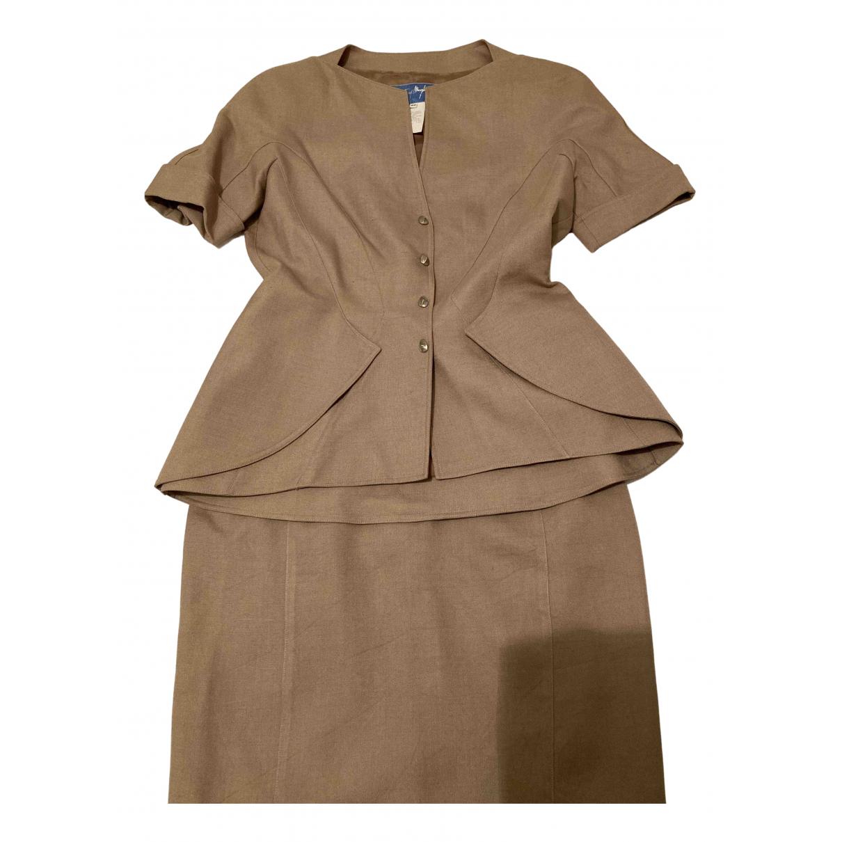 Mugler - Veste   pour femme - beige