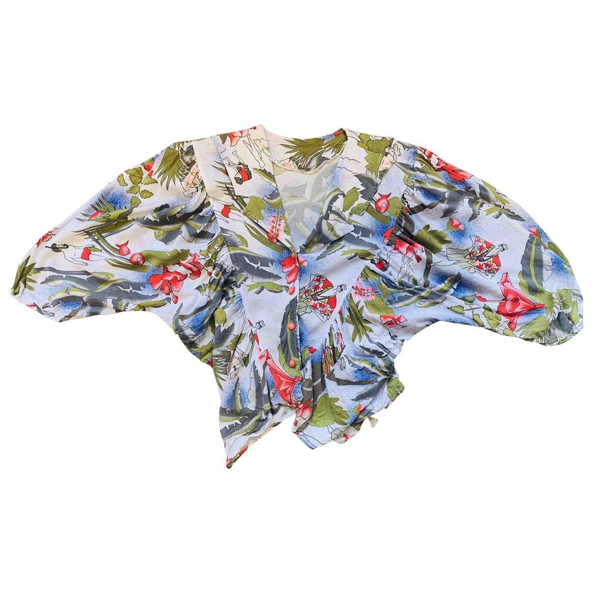 Non Signé / Unsigned \N Multicolour Cotton  top for Women M International