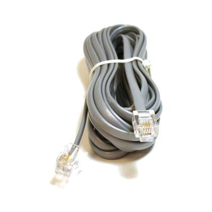 Câble téléphonique, RJ11 (6P4C), droit - 4 longueurs disponibles pour les données - Monoprice® - 14pi