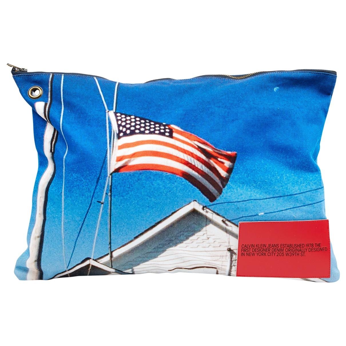 Calvin Klein 205w39nyc \N Multicolour Cotton Clutch bag for Women \N