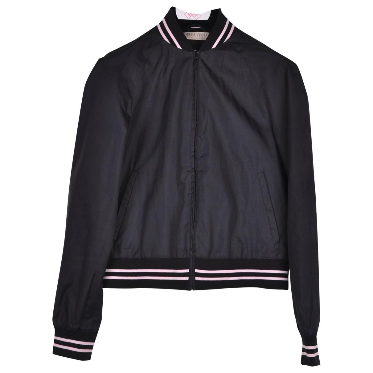Miu Miu \N Black jacket for Women 42 IT