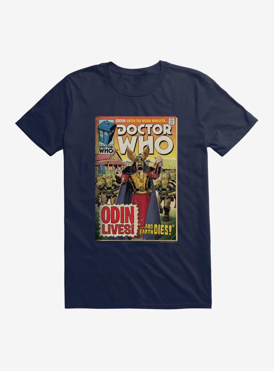 Doctor Who Odin Lives Comic T-Shirt