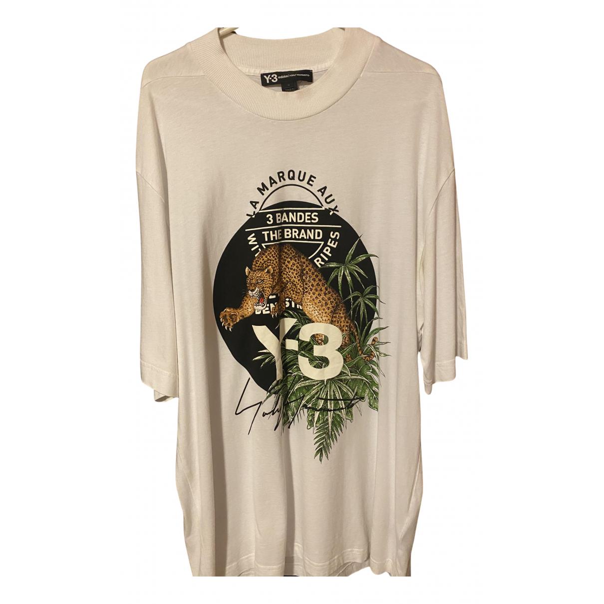 Y-3 By Yohji Yamamoto - Tee shirts   pour homme en coton - blanc