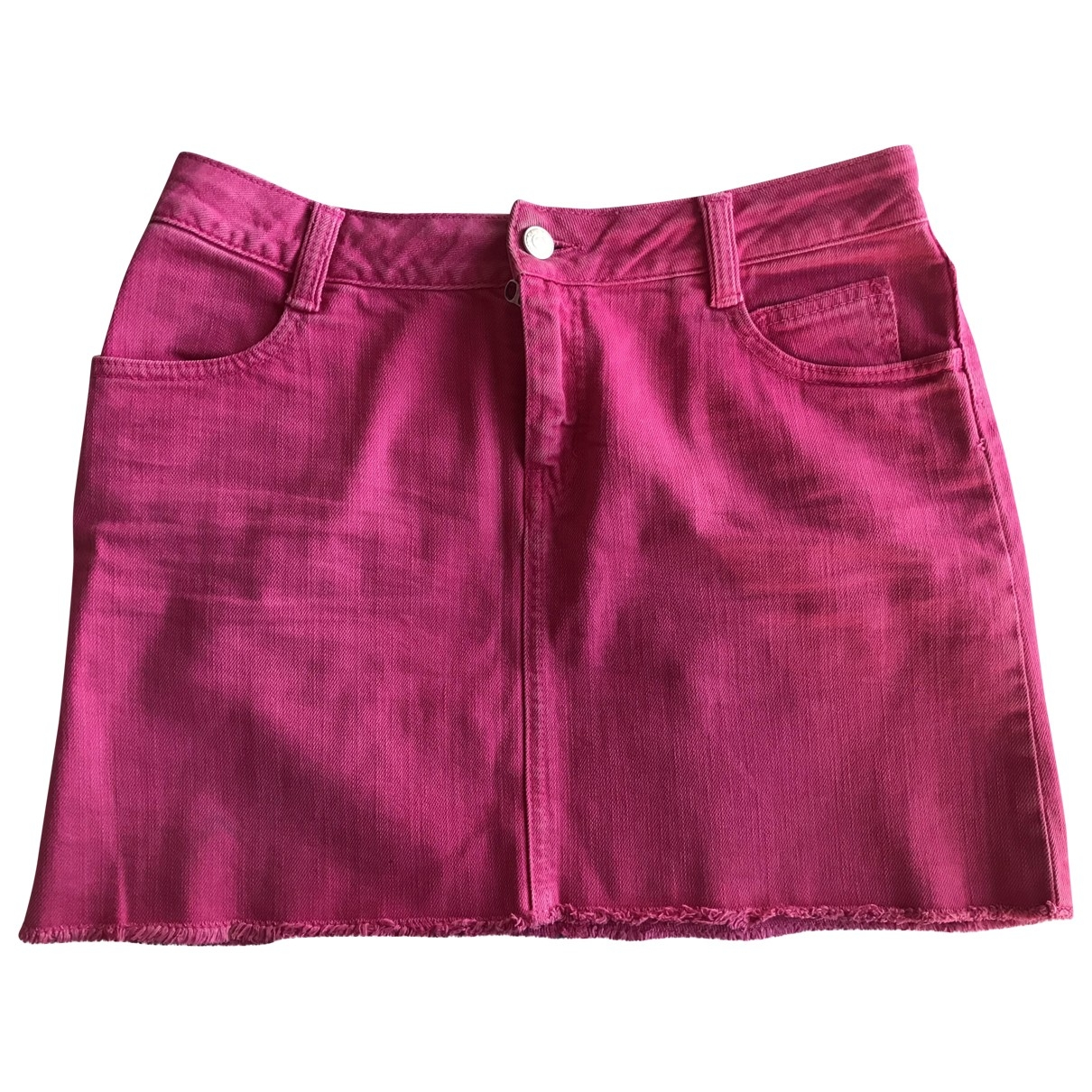 Zadig & Voltaire \N Pink Denim - Jeans skirt for Women 36 FR