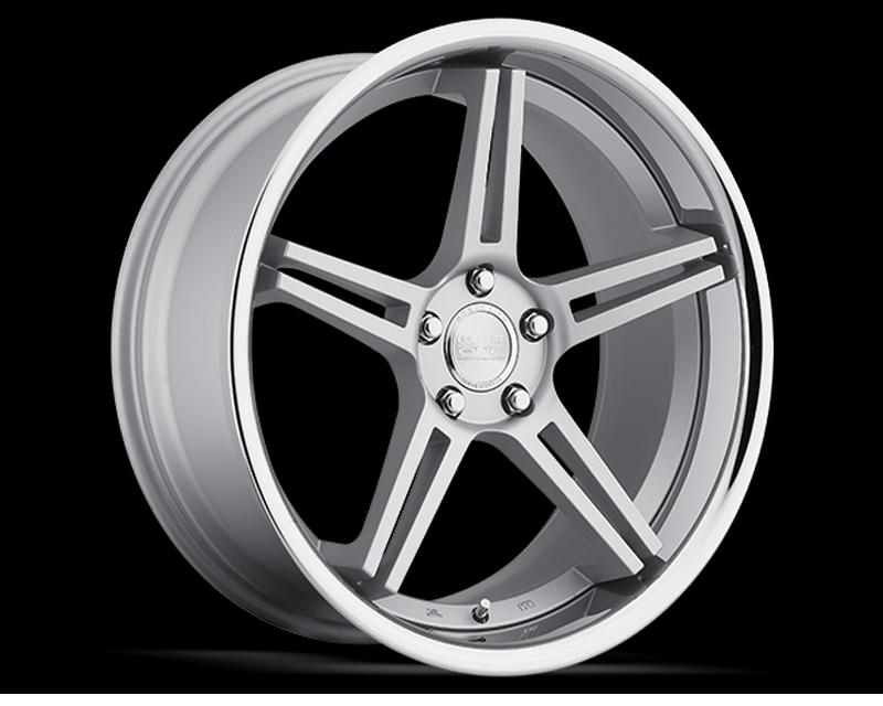 Concept One C767 20105 45 5D CMS CS 5 Silver Wheel 20x10.5 5x120 45mm