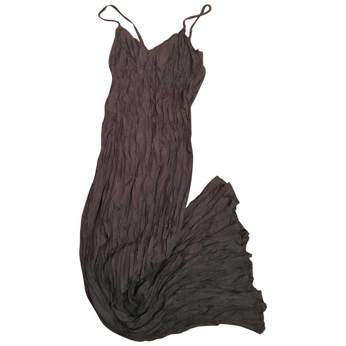 Maxi vestido de Seda Agnes B.