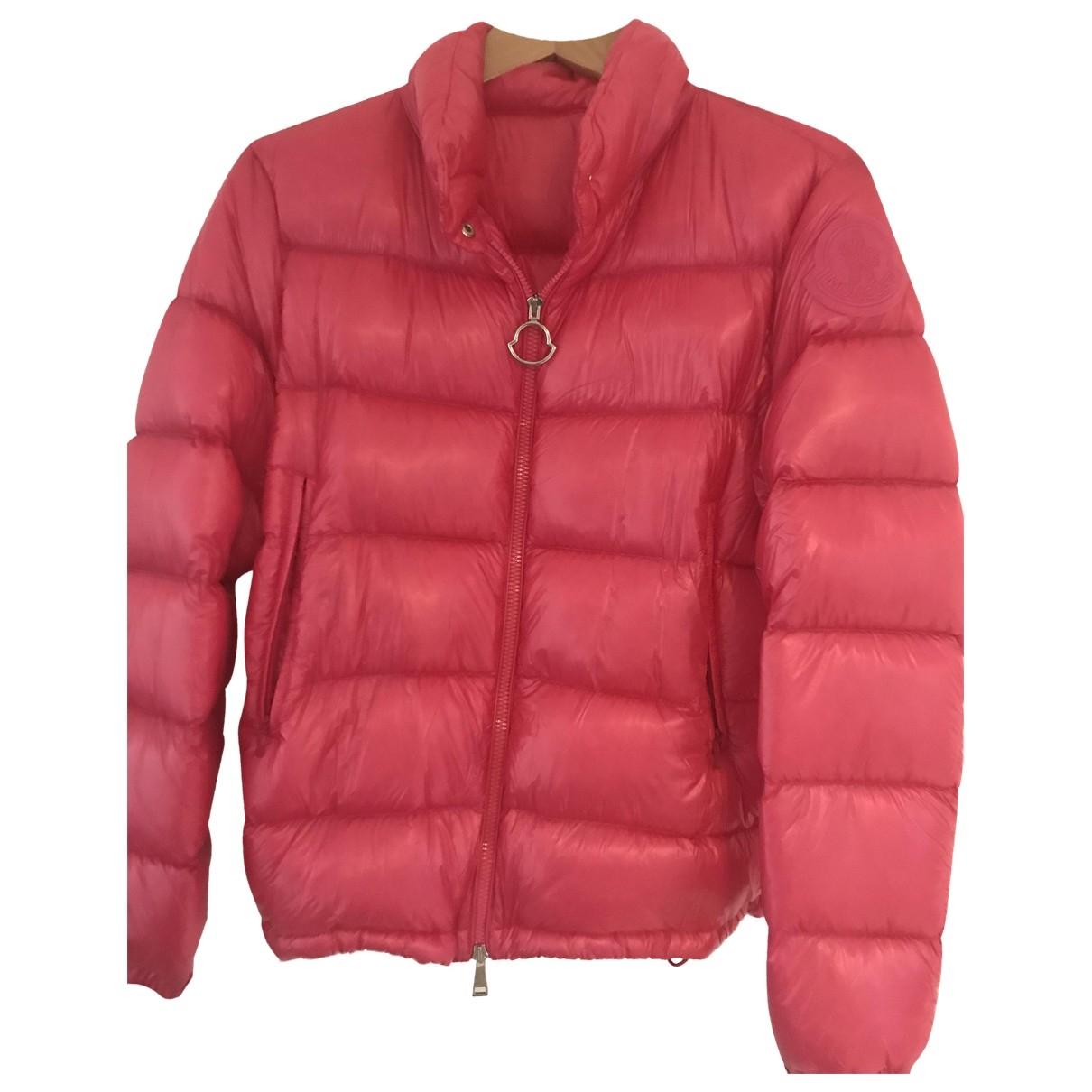 Moncler - Veste Classic pour femme - rose