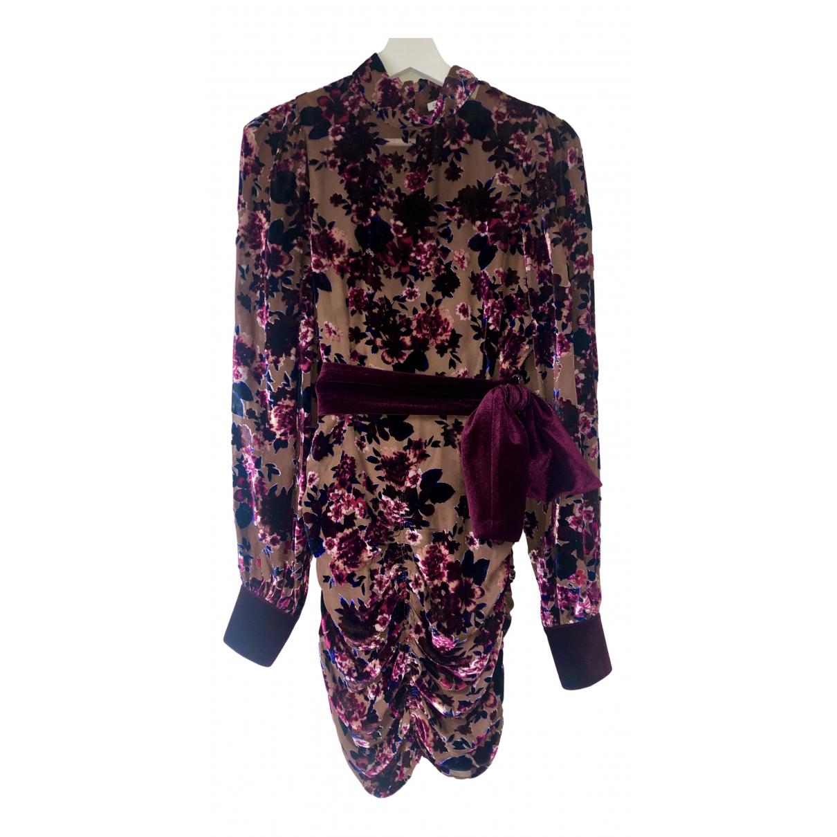 Mini vestido de Terciopelo Ronny Kobo