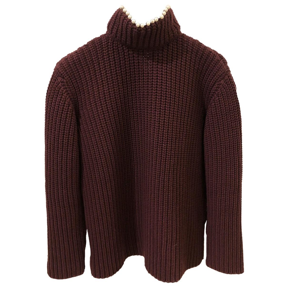Loewe \N Burgundy Cashmere Knitwear for Women S International