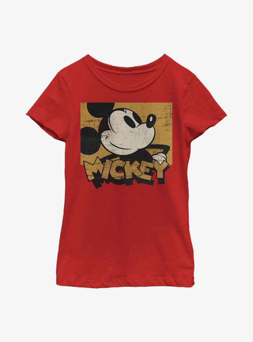 Disney Mickey Mouse Against The Grain Youth Girls T-Shirt