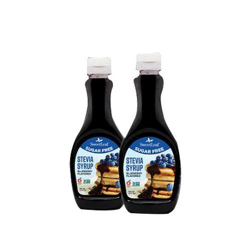 SweetLeaf Sugar Free Stevia Syrup Blueberry 12 Oz by Wisdom Natural