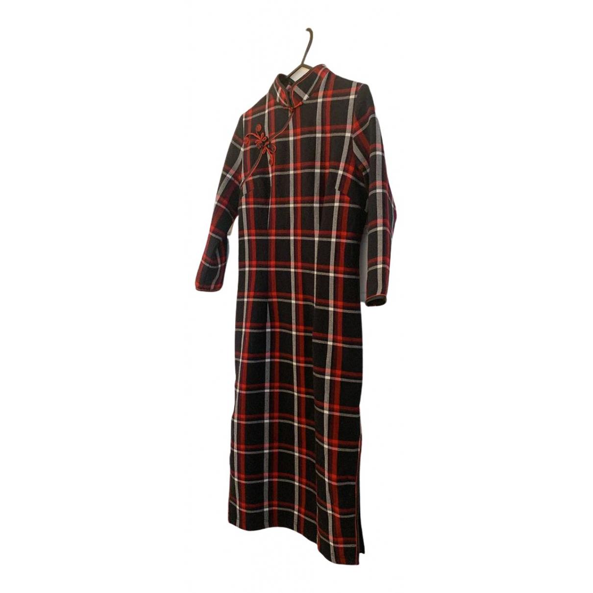 - Robe   pour femme - marine