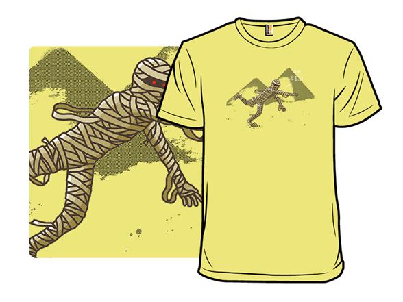 Curse Of The Mummy T Shirt